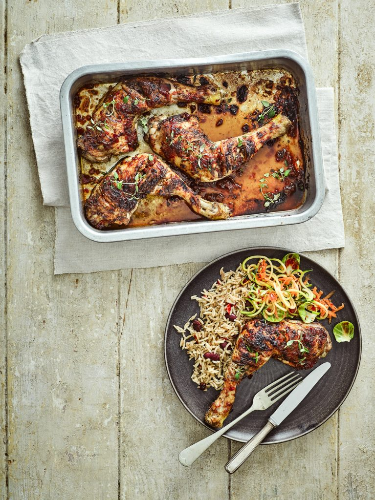 Jerk Chicken with Fresh Chilli Jam