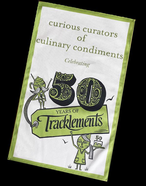 Tracklements Tea Towel