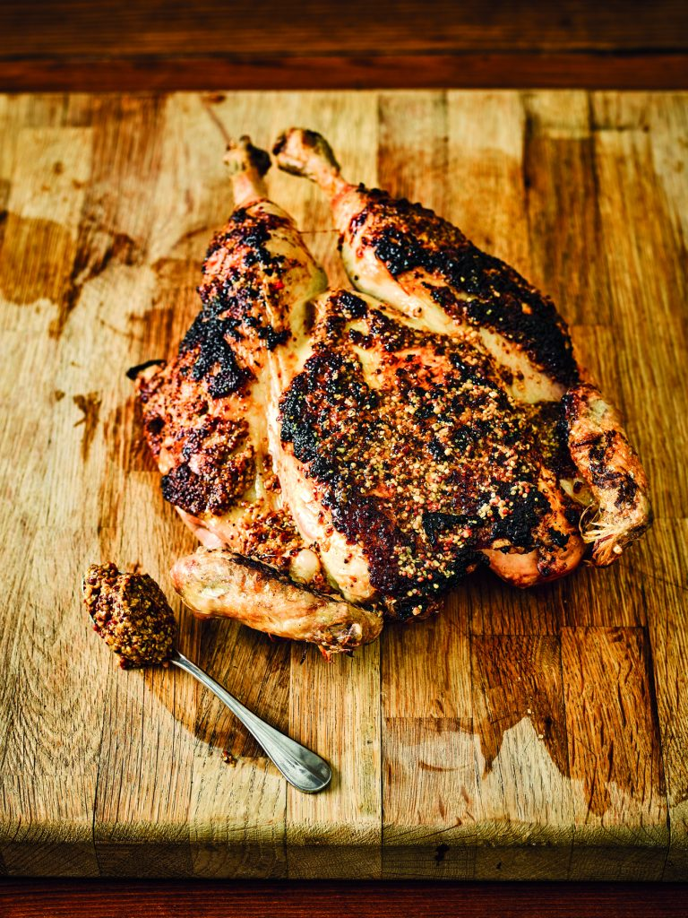 Robust Wholegrain Mustard Barbecued Chicken