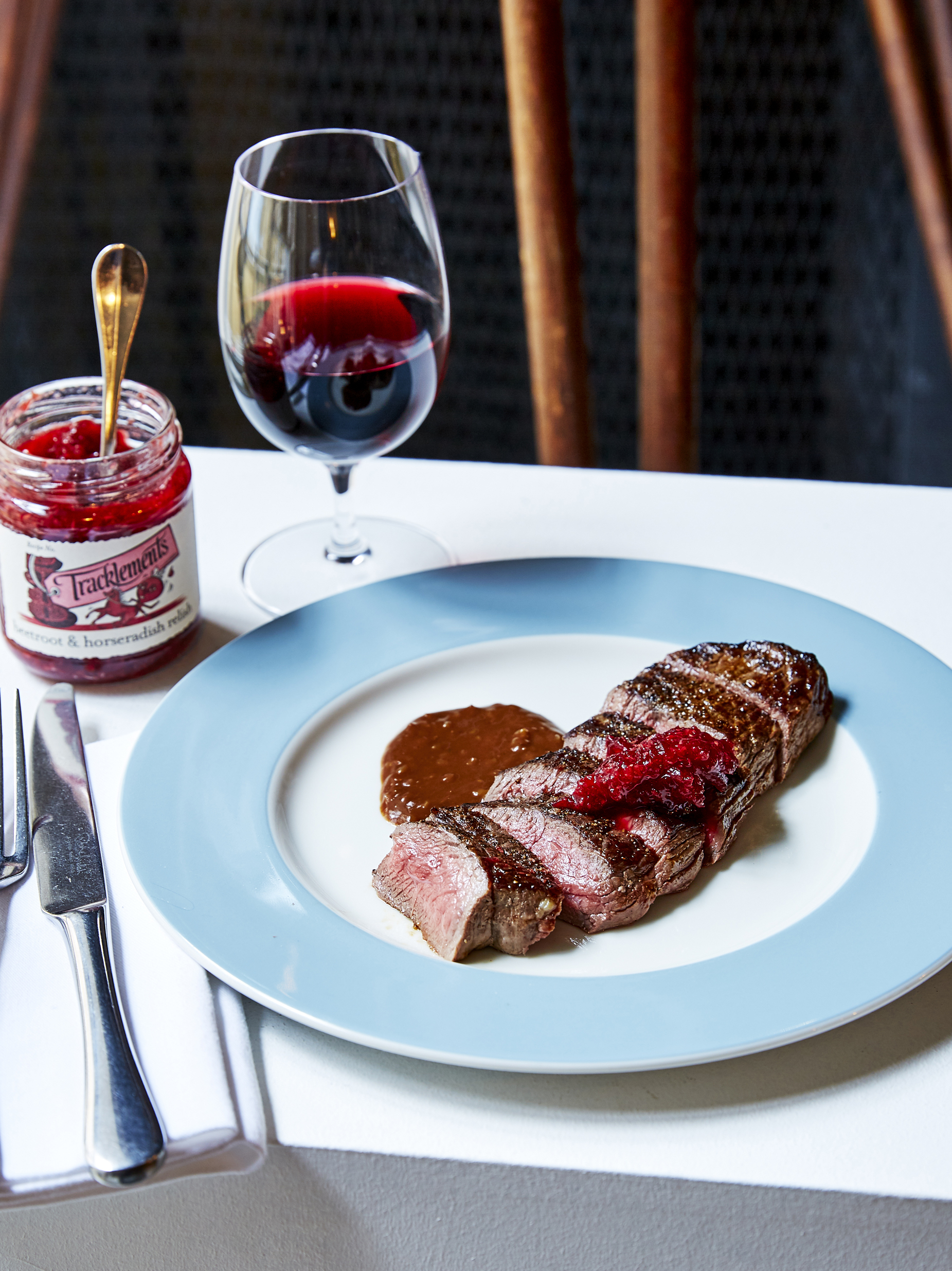 Fillet of Red Deer with Bitter Chocolate Sauce