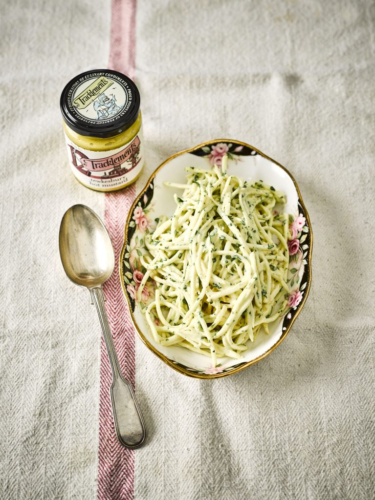 Celeriac Remoulade with Tracklements Tewkesbury Mustard