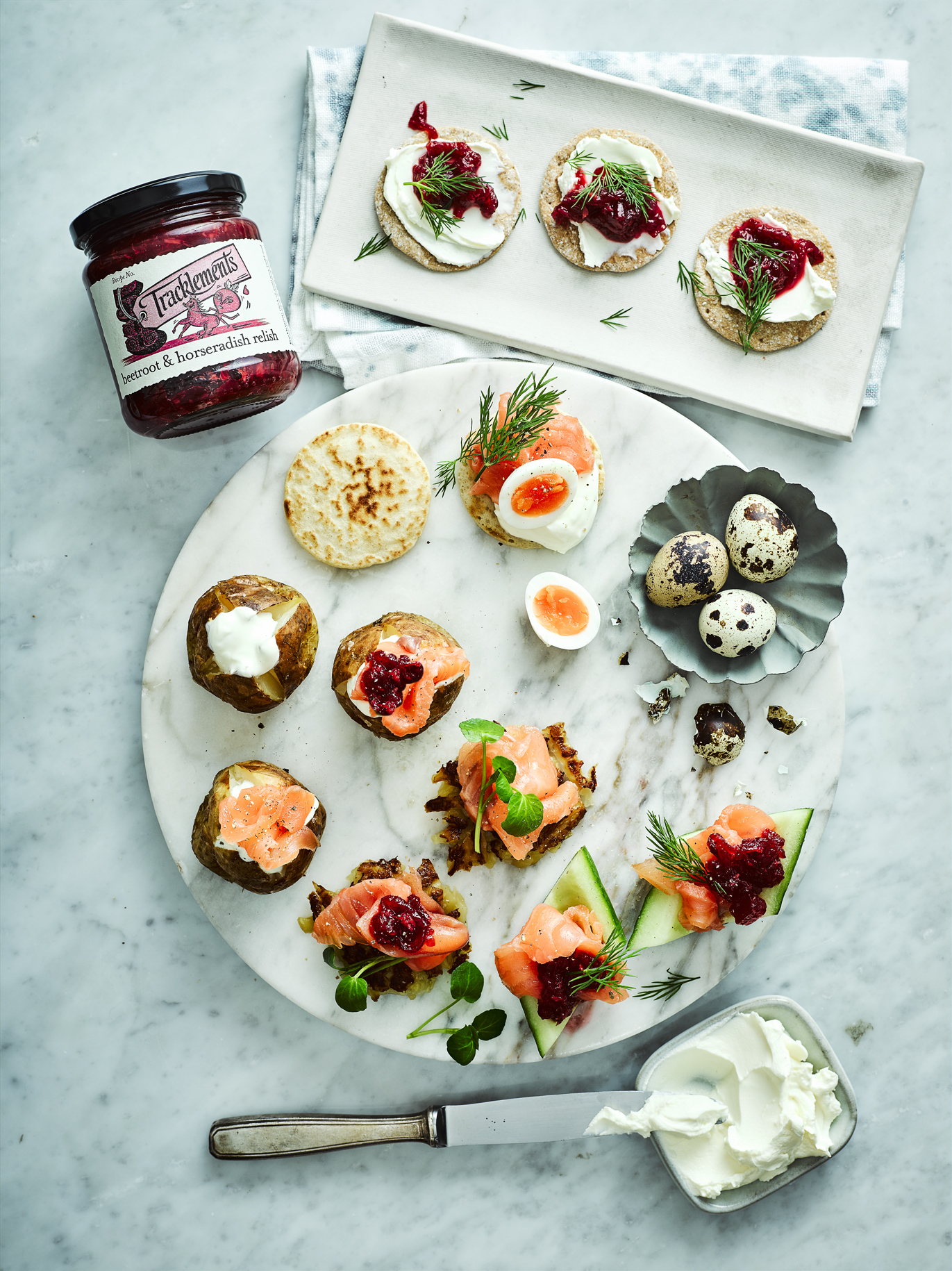 5 Ways with Beetroot & Horseradish Relish