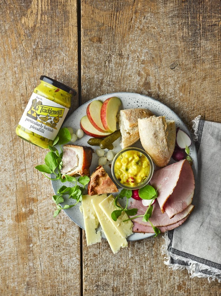 Ploughman's with Particularly British Piccalilli