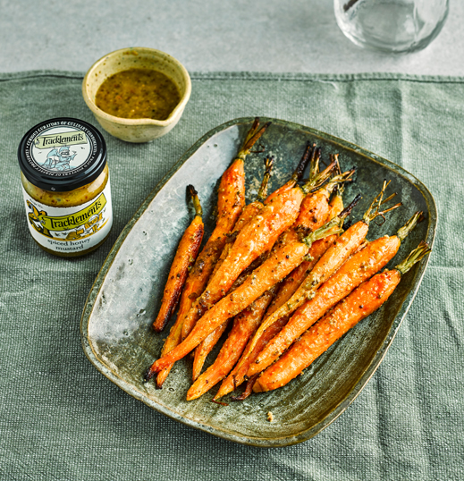 Glazed Honey Mustard Carrots