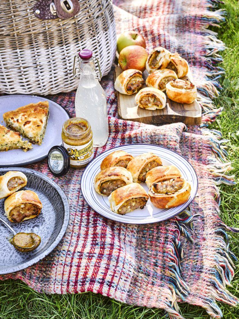 Spiced Honey Mustard Rolls